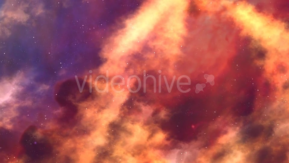 Flame Nebula In Motion - Download Videohive 19276537