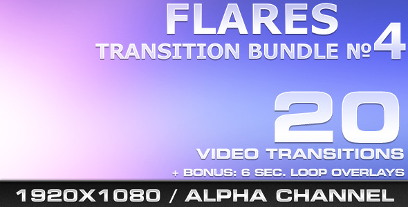 Flares Transition Bundle 4 - Download Videohive 519476