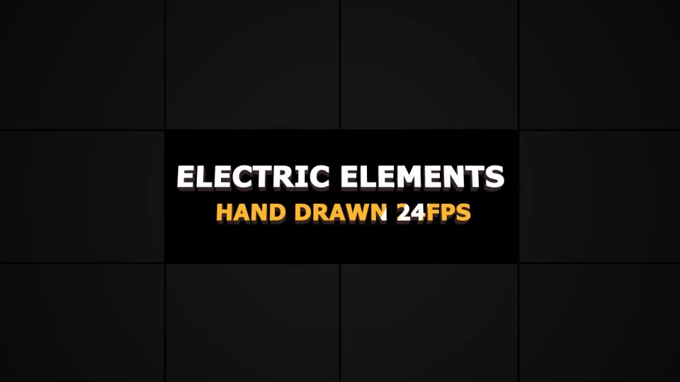 Flash FX ELECTRIC Elements And Transitions - Download Videohive 22700346