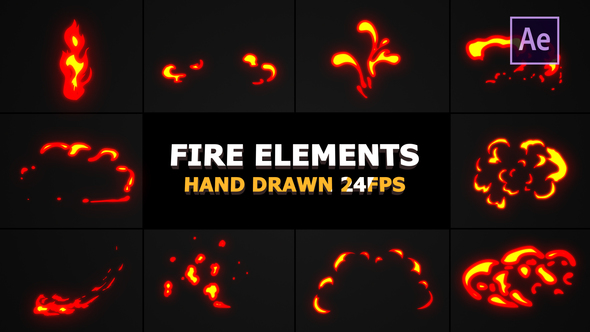 Flash FX Flame Elements - Download Videohive 22281292