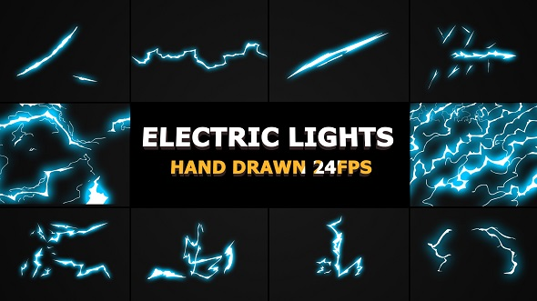 Flash FX Lightning Elements - Download Videohive 21258455
