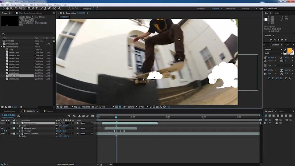 Flash FX Smoke Elements - Download Videohive 21114202