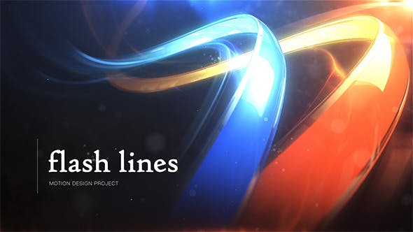 Flash Lines Logo - Download 8205527 Videohive