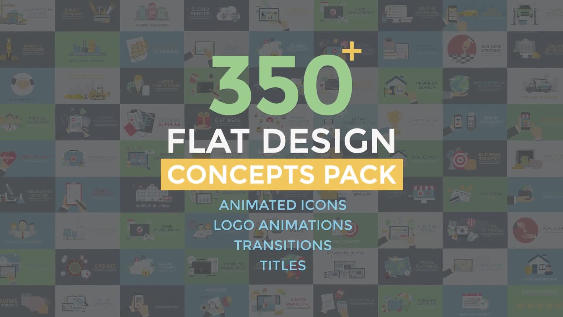 Flat Design Concepts - Download Videohive 20078921