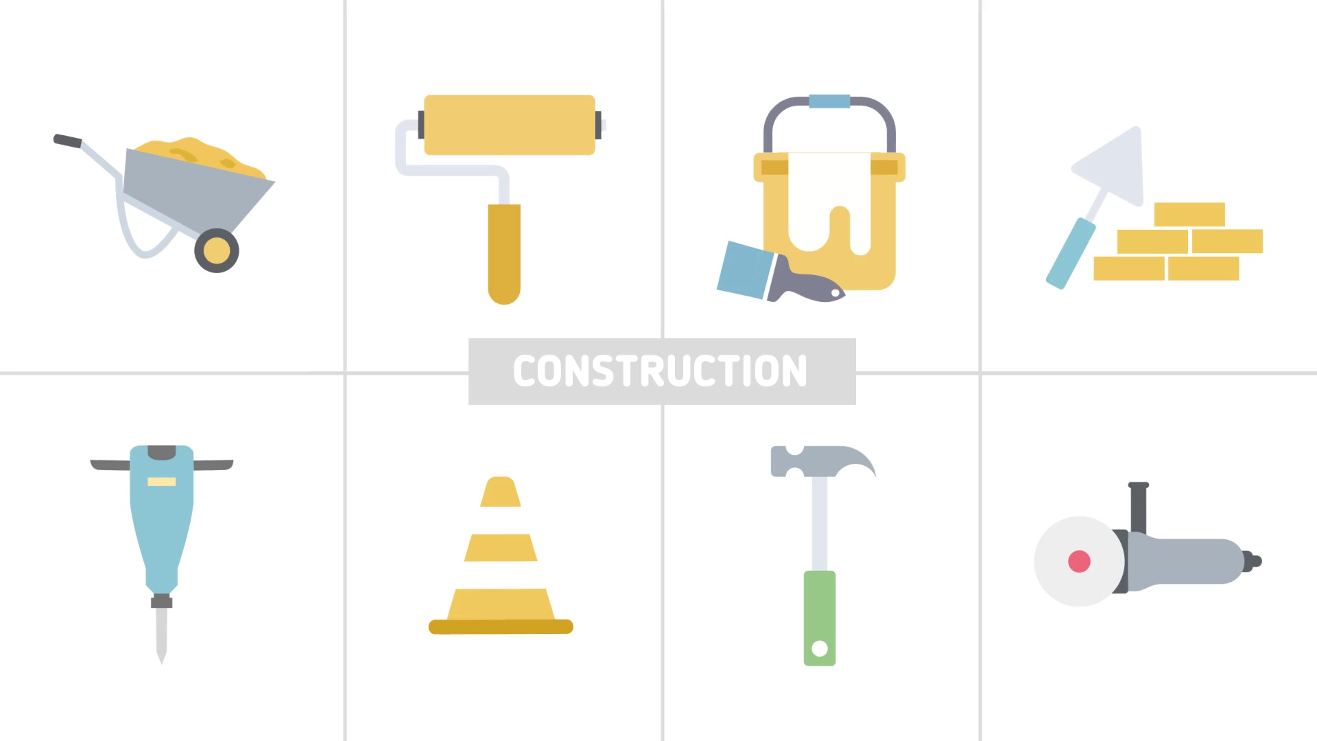 Flat Design Icons - Download Videohive 20552114