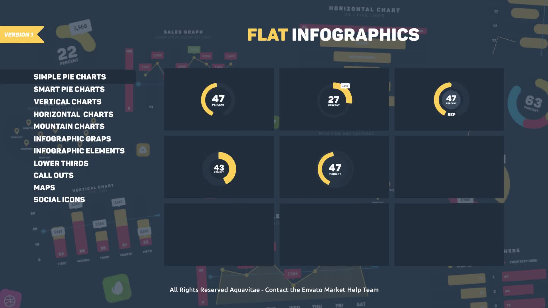 Flat Design Infographics - Download Videohive 19610712