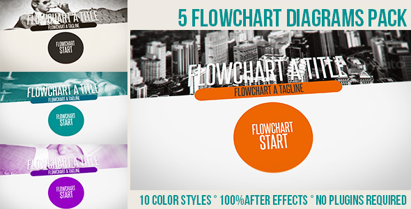 Flowchart Diagrams Pack - Download Videohive 4862491