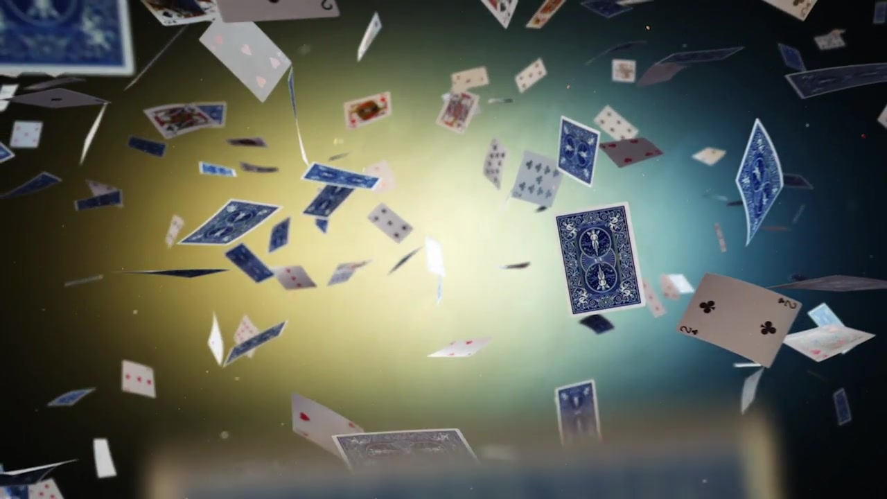 Flying Cards Logo Reveal - Download Videohive 17497471