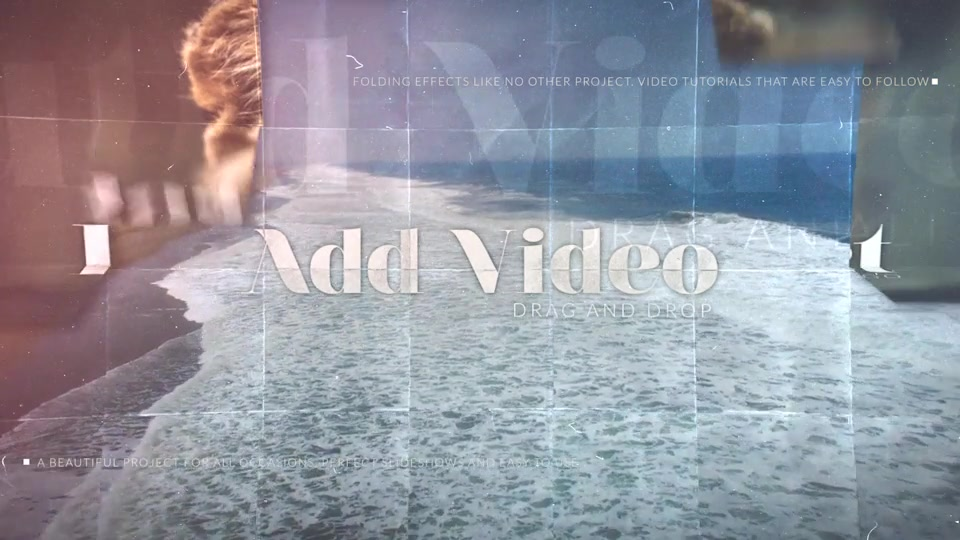 Folding Photos Slideshow - Download Videohive 15866337