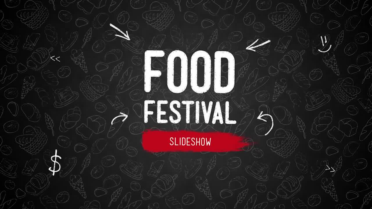 Food Festival Slideshow - Download Videohive 18010264