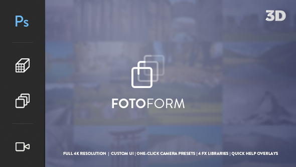FotoForm Geometric 3D Photo Animator - Download Videohive 17850213