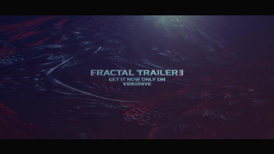 Fractal Trailer - Download Videohive 19270202