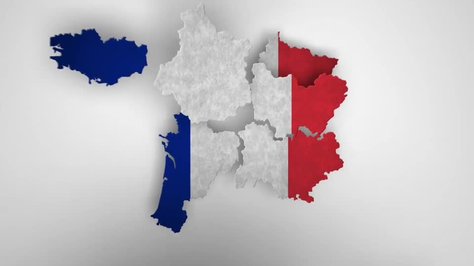 France Map Kit - Download Videohive 15927401