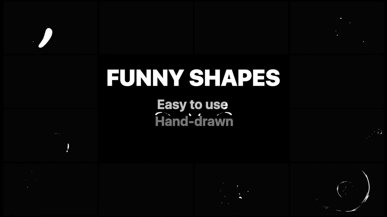 Funny Abstract Shapes | Final Cut Videohive 23718397 Apple Motion Image 2