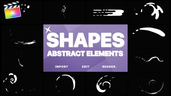 Funny Abstract Shapes | Final Cut - 23718397 Download Videohive