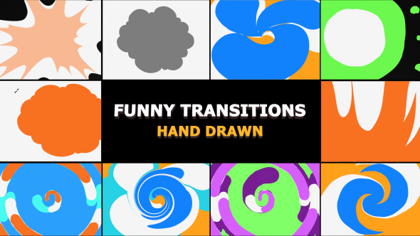 Funny Transitions - Download Videohive 21284173