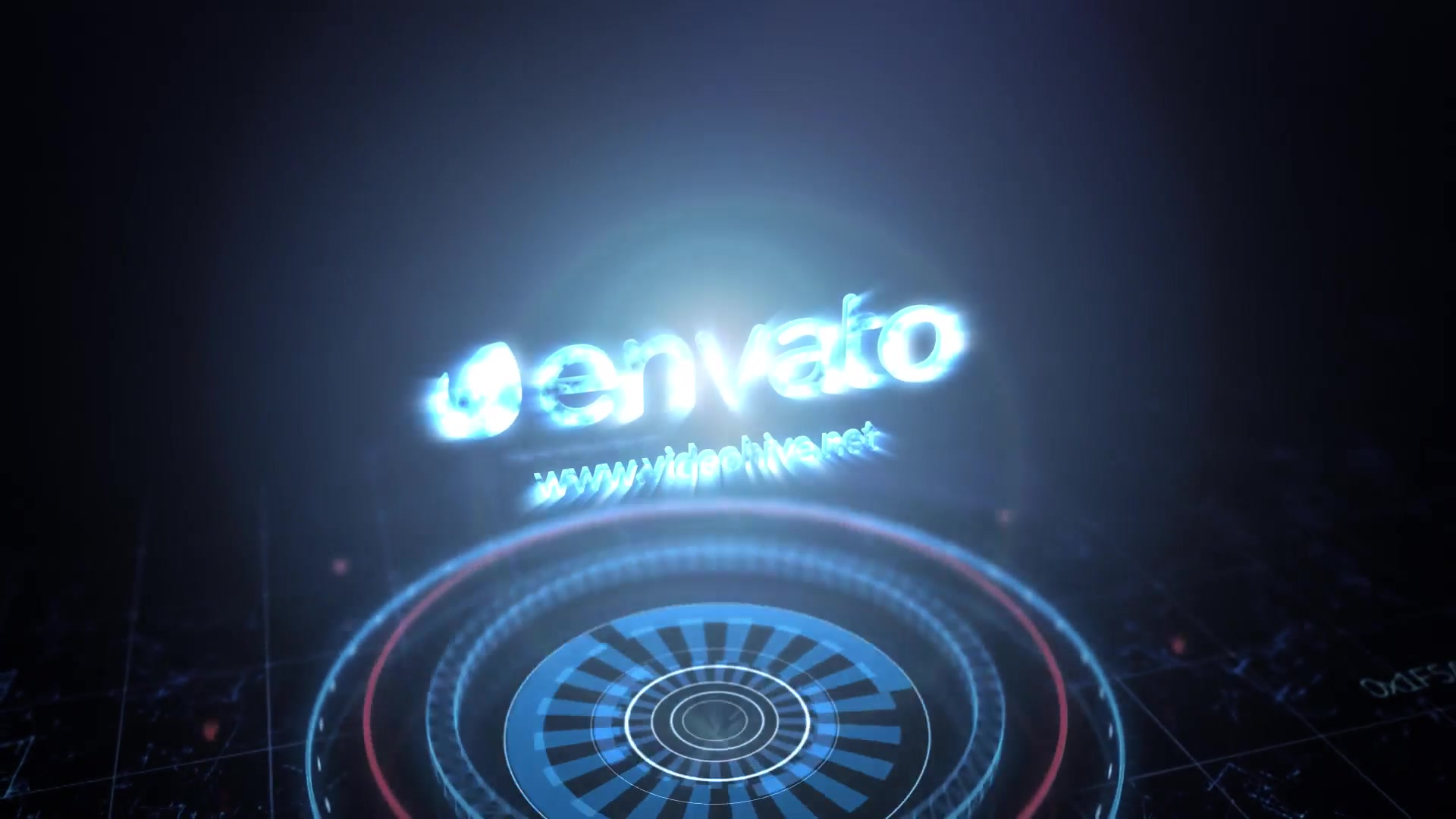 Futuristic Energy Circles Logo - Download Videohive 15092126