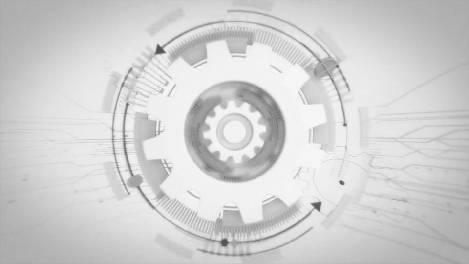 Futuristic Gears Logo Reveals Videohive 25638816 After Effects Image 2