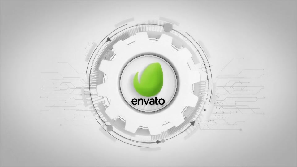 Futuristic Gears Logo Reveals Videohive 25638816 After Effects Image 4
