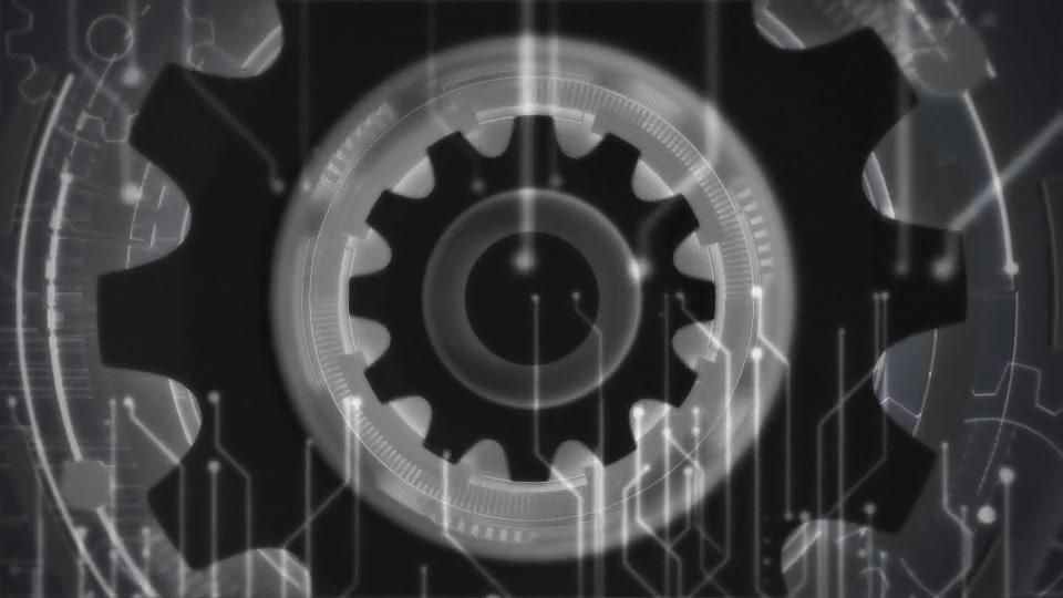 Futuristic Gears Logo Reveals Videohive 25638816 After Effects Image 6