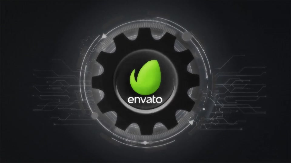 Futuristic Gears Logo Reveals Videohive 25638816 After Effects Image 7
