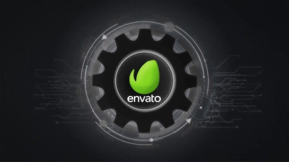 Futuristic Gears Logo Reveals Videohive 25638816 After Effects Image 8