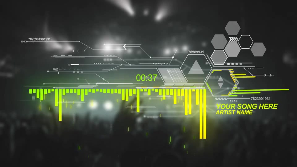 Futuristic Music Visual - Download Videohive 17308441