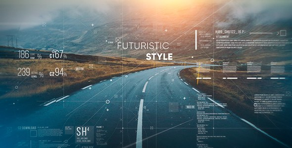 Futuristic Parallax Slideshow - Download Videohive 19195683