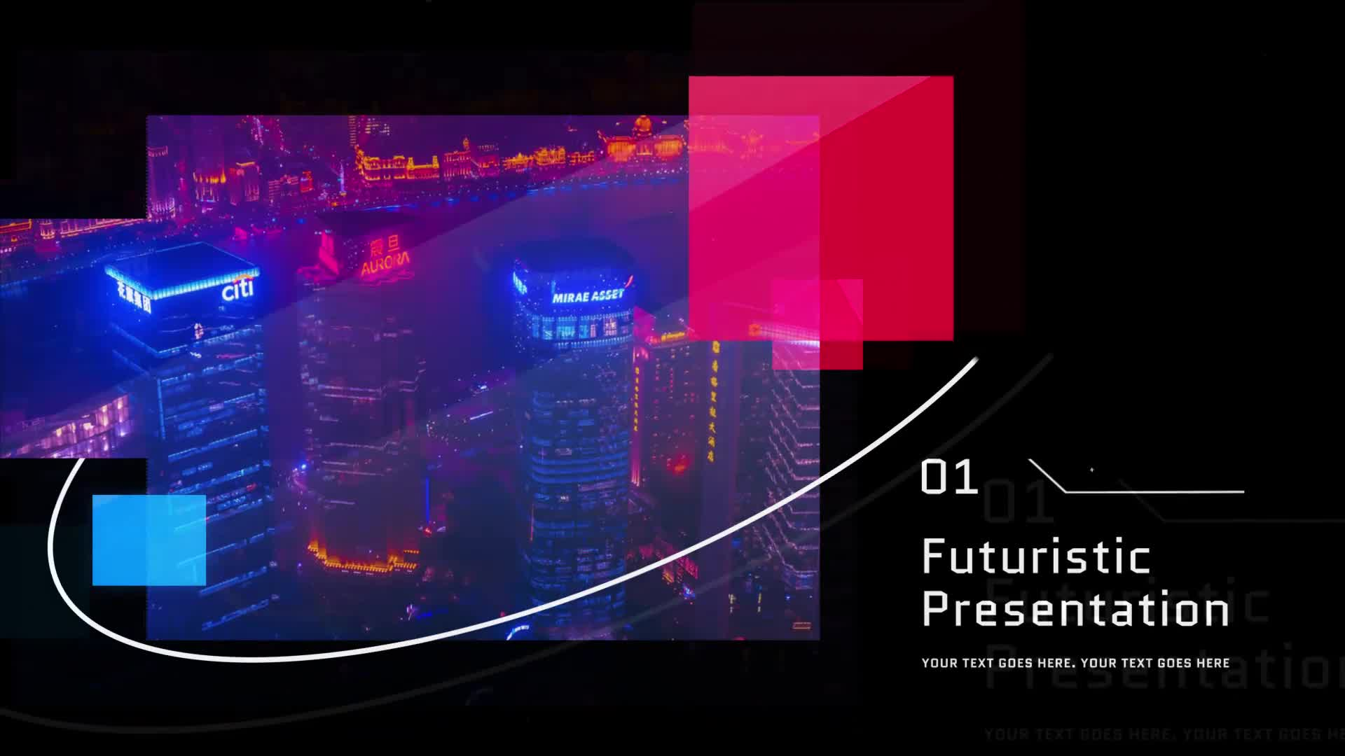Futuristic Presentation Videohive 28976659 After Effects Image 1