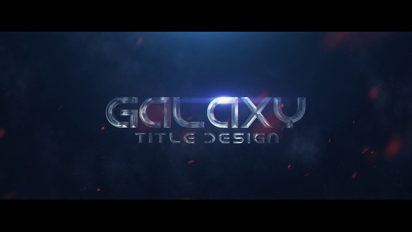 Galaxy Title Design - Download Videohive 23074661
