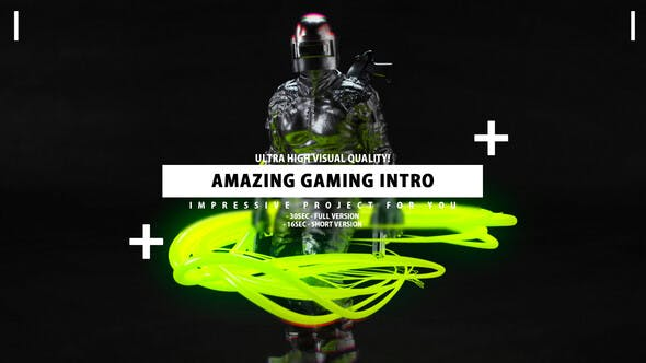 Gaming Intro Gamer channel opener - Videohive 25628048 Download