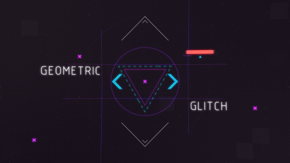 Geometric Glitch Intro 2 - Download Videohive 15066335