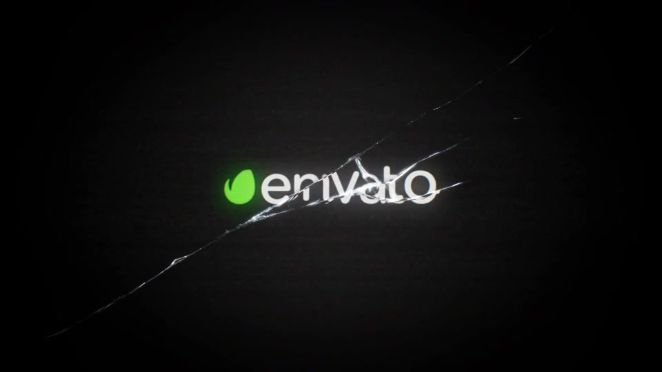 Glass Crack Logo - Download Videohive 12892722