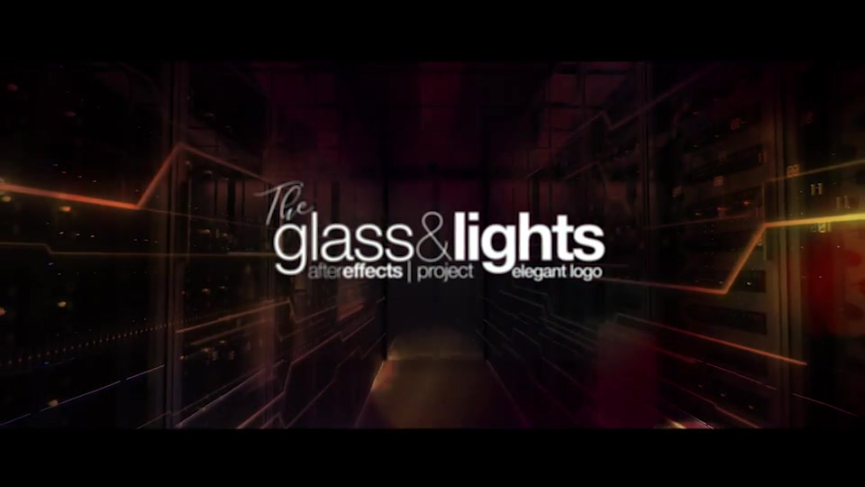 Glass & Lights Elegant Logo Videohive 24506389 After Effects Image 7