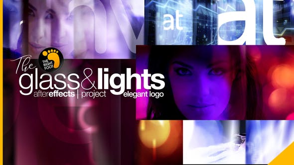 Glass & Lights Elegant Logo - 24506389 Download Videohive