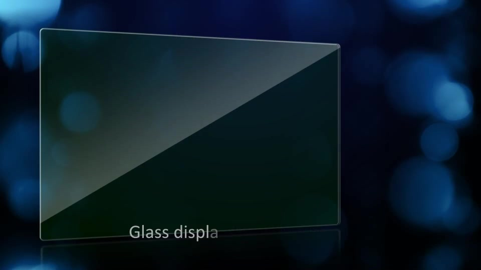 Glass Video Display - Download Videohive 5198661