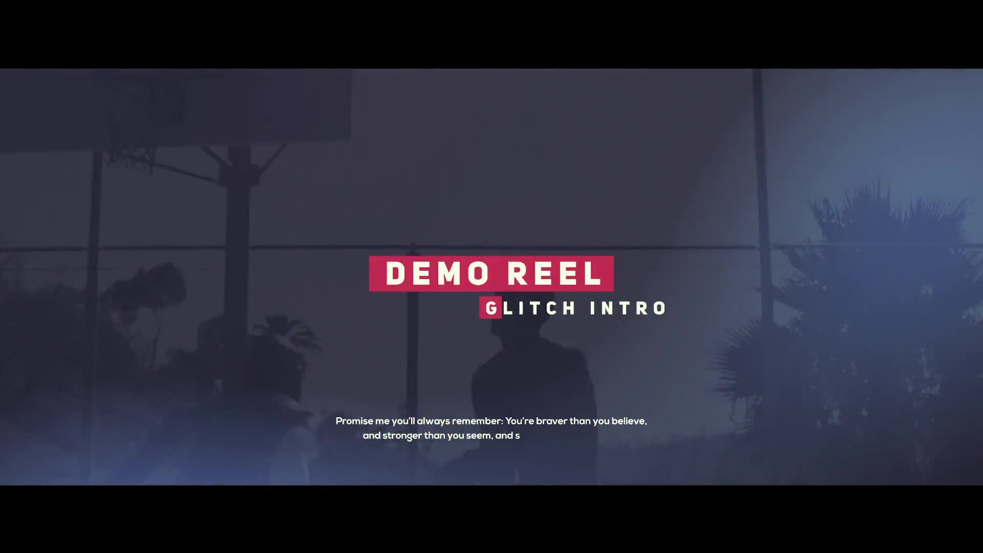 Glitch Demo Reel - Download Videohive 20415416