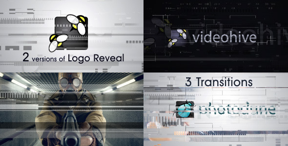 Glitch Logo and Transitions - Download Videohive 9791974