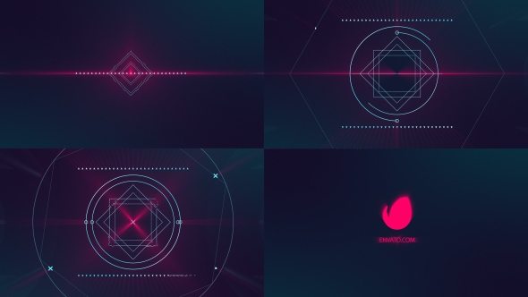 Glitch logo - Download Videohive 19607440