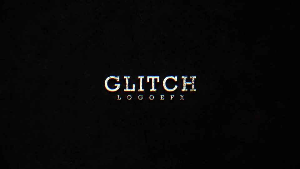 Glitch logo - Download Videohive 19910641