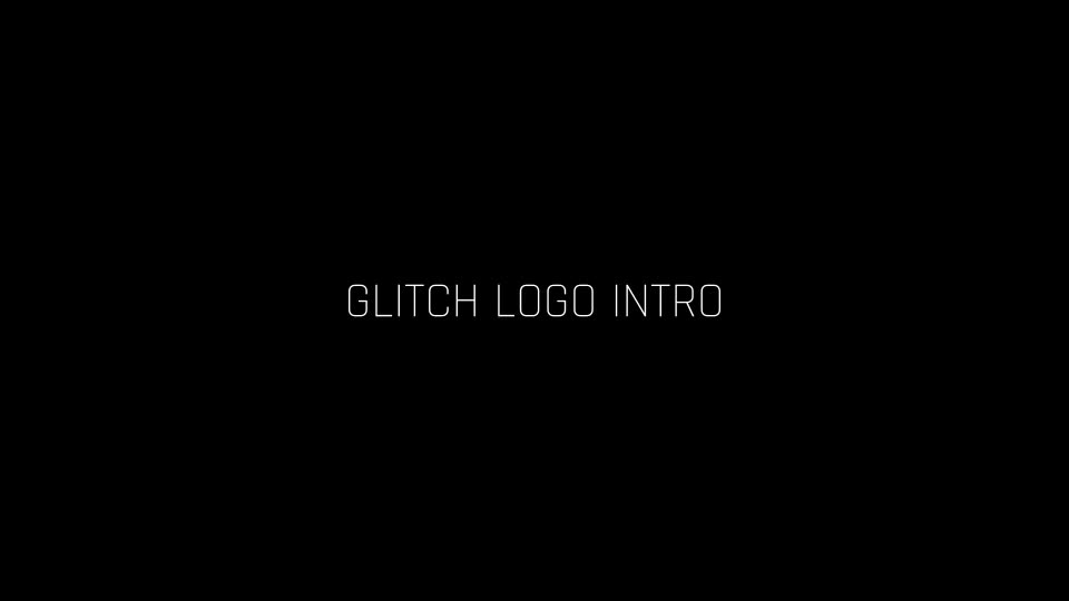 Glitch Logo Intro - Download Videohive 19384167