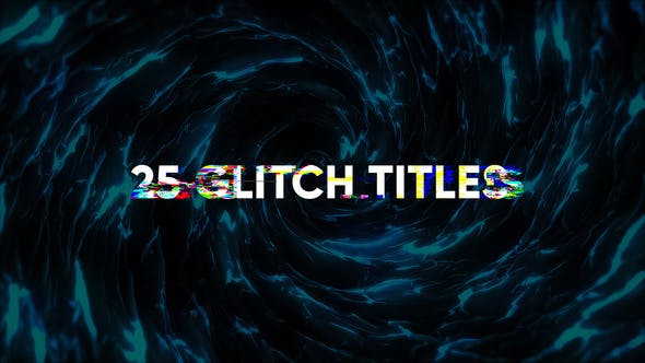 Glitch Modern Titles - Videohive 24512945 Download