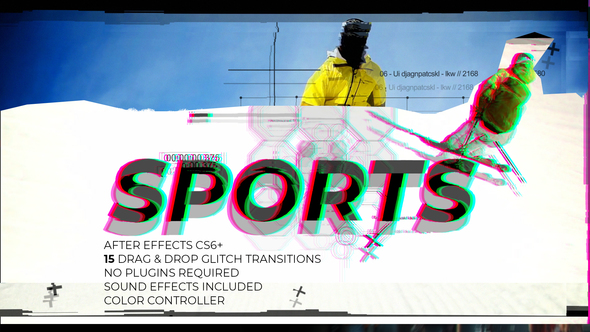 Glitch Sports - Download Videohive 21886662
