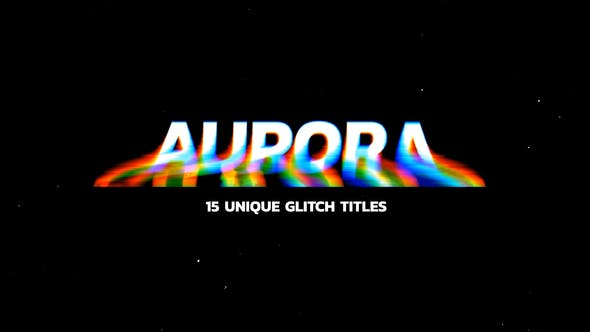 Glitch Titles - Download Videohive 24740390