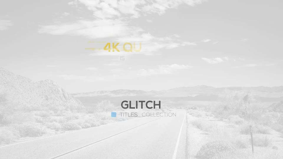 Glitch Titles Package - Download Videohive 18975241