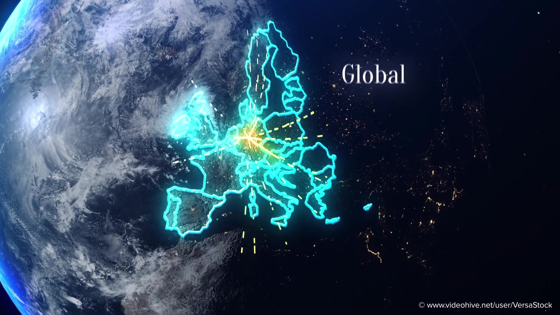 Global Economics From Space Infographics Videohive 25031384 After Effects Image 10