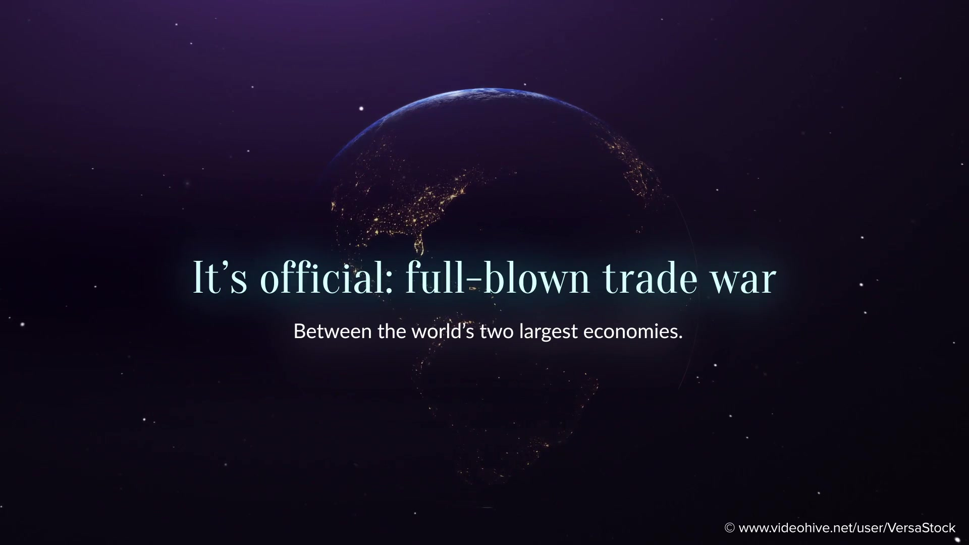Global Economics From Space Infographics Videohive 25031384 After Effects Image 6