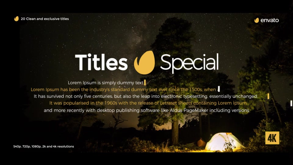 Gold Clean Titles For Final Cut Pro X - Download Videohive 19753939