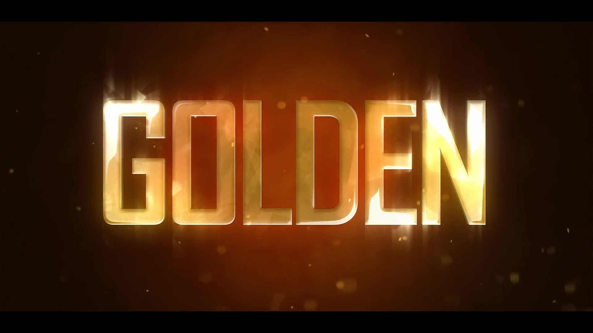 Golden Brilliant Logo Reveal Videohive 19435270 After Effects Image 2
