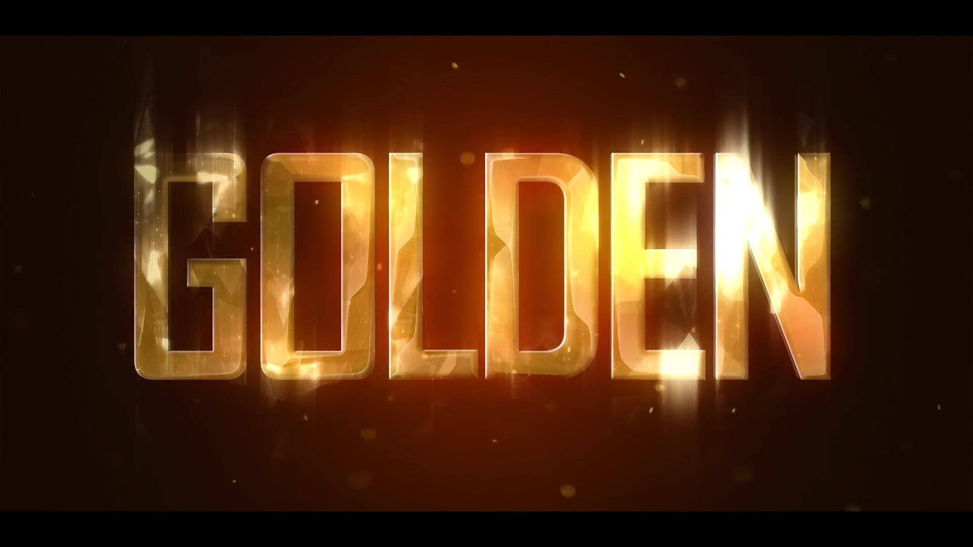Golden Brilliant Logo Reveal Videohive 19435270 After Effects Image 3